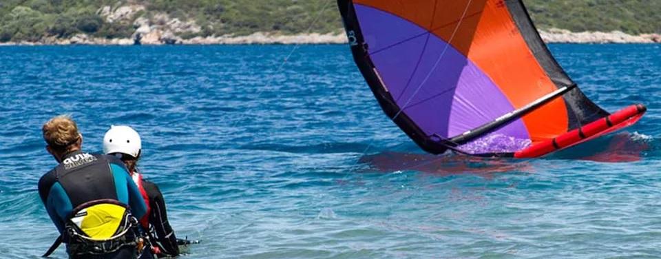 kiteboard eğitim bodrum
