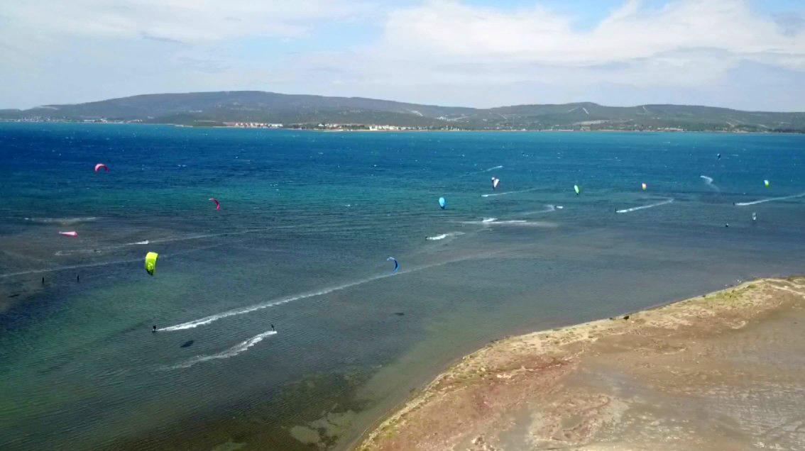 Kiteboard sahili Urla