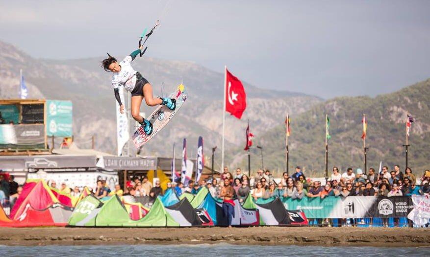 dünya kiteboard şampinası yarışması